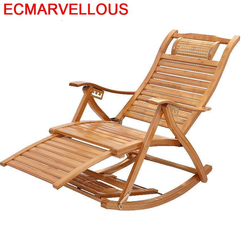 Bureau Sofa Recliner Rocking Chair Bamboo Folding Bed Sillon Reclinable Cama Plegable Sillones Moderno Para Sala Chaise Lounge