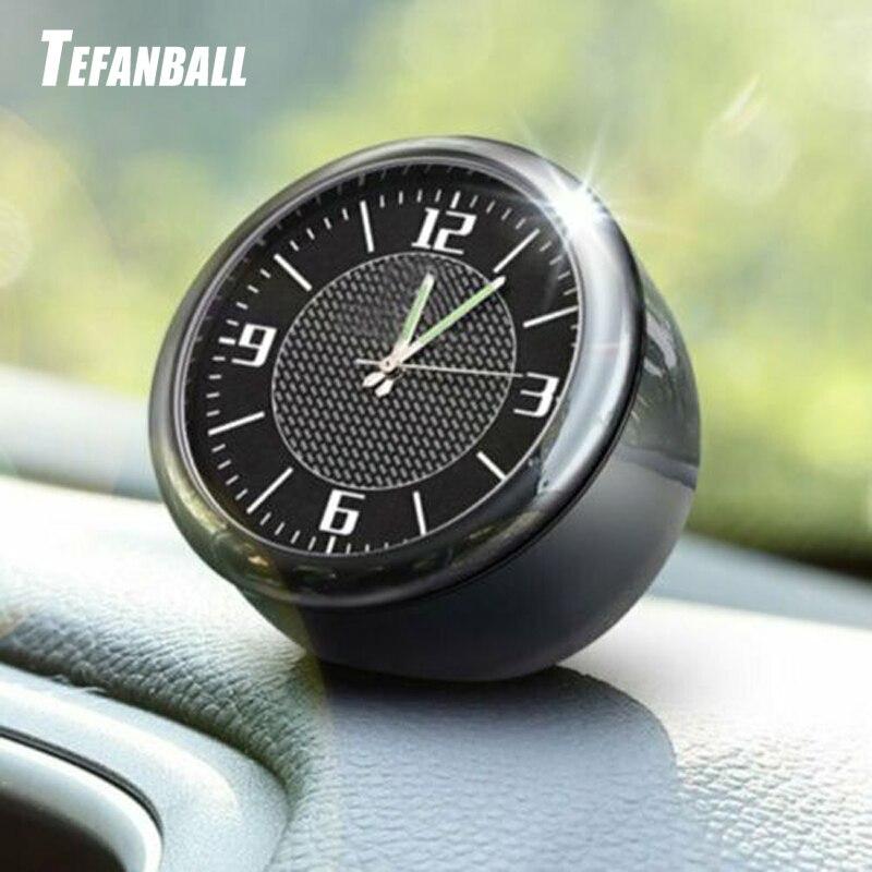 Car Clock Auto Watch Luminous Digital Clock Accessories For Audi BMW Ford Focus Volkswagen Peugeot Renault Mercedes Toyota 2019