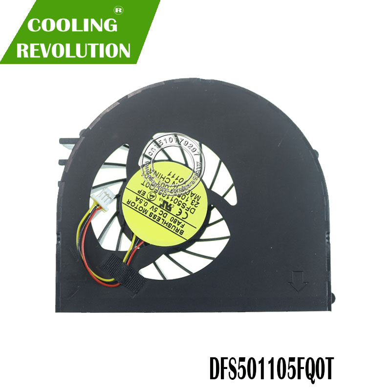 NEW Laptop Cpu Cooling Fan For DELL For Inspiron 15R N5110 Ins15RD M5110 M511R Ins15RD