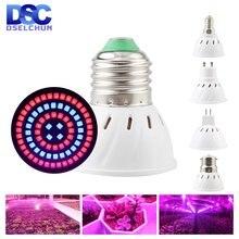 Светодиодный светильник для выращивания e27 e14 gu10 mr16 b22