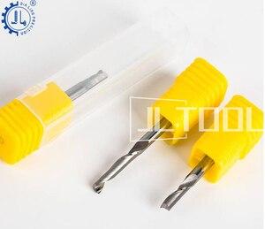 Image 2 - JIALING 1PC אחת חליל אלומיניום חיתוך חותך כלים צעד cnc פיסות הנתב/סוף מיל עבור אלומיניום