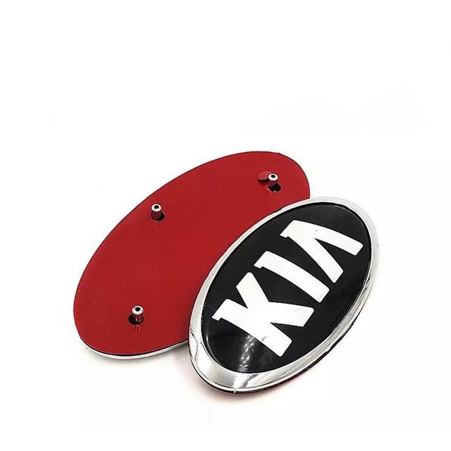 ABS Alloy Chrome Sticker for KIA K4 K5 K2 K3 KX3 Cerato Forte Auto Grille Front Trunk Tailgate Emblem Exterior Modification 5
