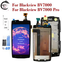 """5"""" LCD With Frame For Blackview BV7000 BV 7000 Pro Display Screen Touch Sensor Digitizer Assembly BV7000pro Display Android 7.1"""