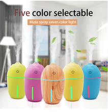 New Corn Wood Grain Custom Multi-color USB Humidifier Desktop Car Office Mini Air Freshener