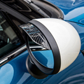 Автомобильная наклейка на зеркало заднего вида, 2 шт., дождевик для BMW MINI COOPER JCW F54 F55 F56 F60 R55 R56 R60 R61, автомобильные аксессуары, солнцезащитный ко...