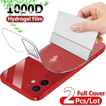 Full Cover Hydrogel Film For iPhone 7 8 Plus 6 6s Screen Protector 11 12 Pro mini XR X XS Max SE 2020 Back Soft Film Not Glass 1