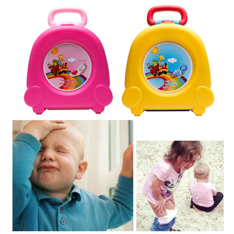 Baby Portable Potty Toilet Travel Toilet Trainer just for kids Portable toilet