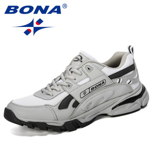 Image 3 - BONA New Designers Male Sneakers Running Shoes Mens Sport Shoes Outdoor Athletic Krasovki Tennis Shoes Man Jogging Shoes
