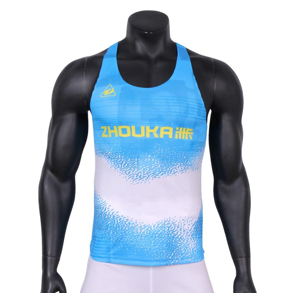 Новинка спортивный жилет zhouka для мужчин быстросохнущая дышащая