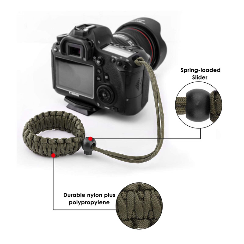 Color : Blue Camera Belt Accessory Rope Camera Wrist Strap Wrist Band for Mirrorless Digital Camera Durable