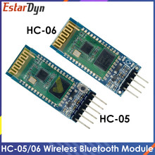 NEW HC-05 HC 05 hc-06 HC 06 RF Wireless Bluetooth Transceiver Slave Module RS232 / TTL to UART converter and adapter