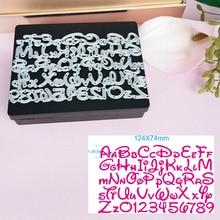 Карточные трафареты с буквами алфавита для Микки Минни, декоративные бумажные открытки для скрапбукинга, фотоальбома