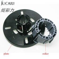 Jucaili czarny mimaki jv33 /mutoh RJ900C/1604 drukarka atramentowa blok talerz papierowy media podjąć rolki do przechowywania mediów