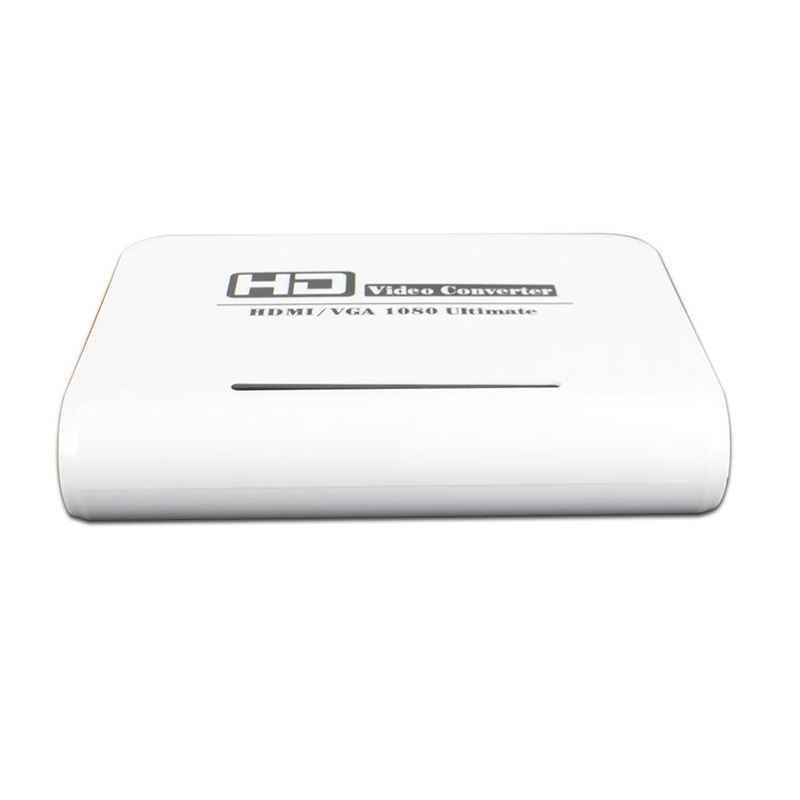 Bán Lẻ HDMI Sang VGA HD XBOX360 PS3 PS4 Để Giám Sát Adapter HD