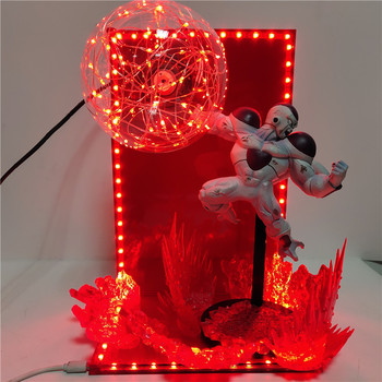 Dragon Ball Figura Frieza Novelty Led Table Lamp DIY LED Night Light Dragon Ball Freeza Lampara Toys Gifts for Children