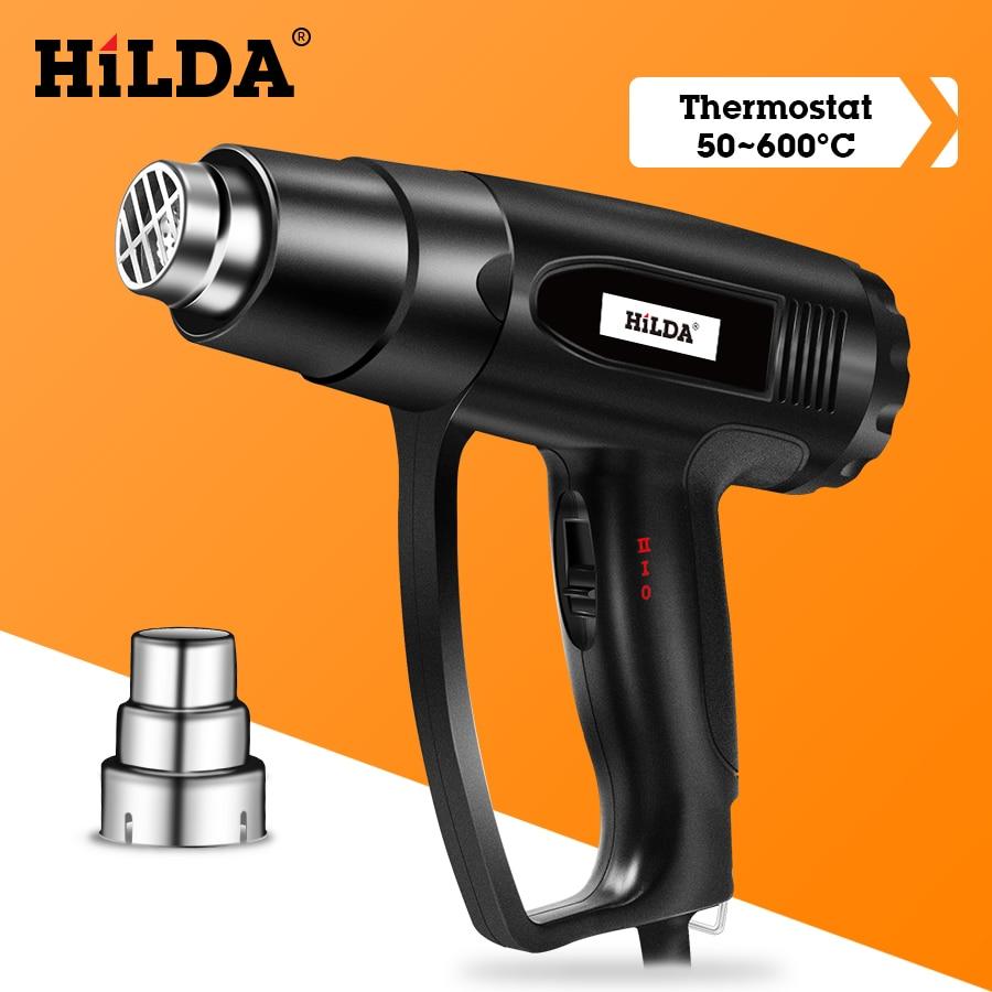 HILDA Heat Gun With Adjustable 2 Temperatures Advanced Electric Hot Air Gun 220V Power Tool 1800W/2000W