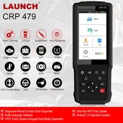LAUNCH X431 CRP479 OBD2 сканер автомобильный диагностический инструмент автоматический диагностический сканер OBD2 ABS SAS DPF IMMO сброс PK CRP429C