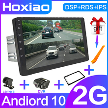 For Nissan Renault Toyota 2 Din Android 10 Car Radio Multimedia Car Player Stereo GPS Navigation Bluetooth Video Dual Recording