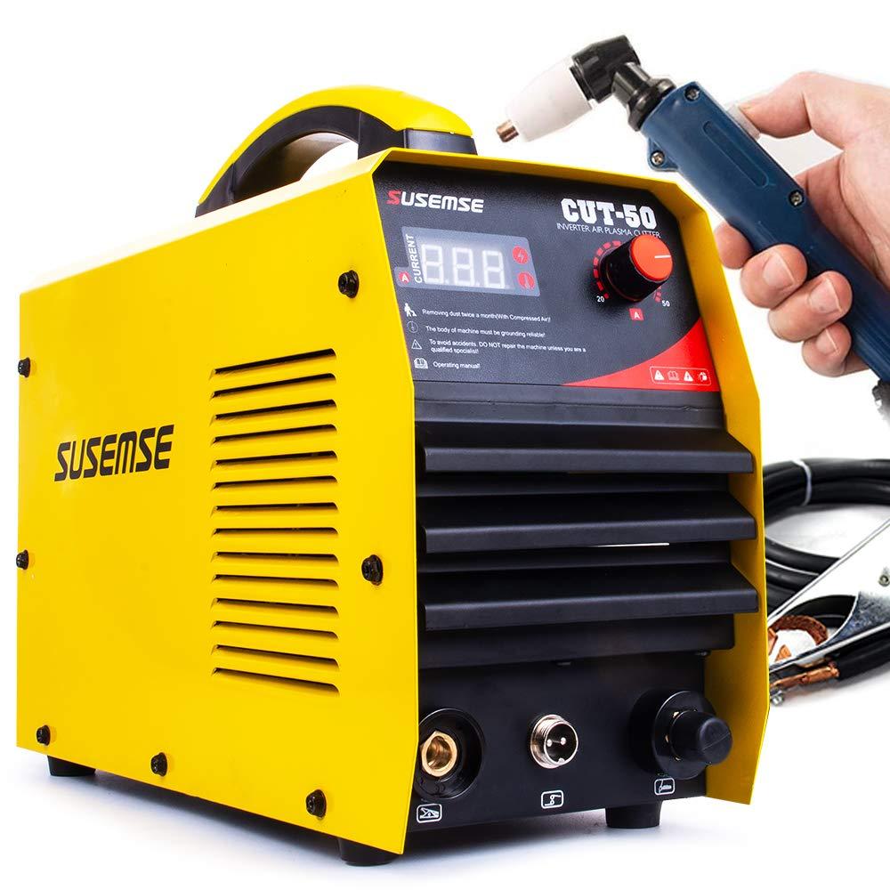 SUSEMSE Neue Schweißer Maschine CUT50 220V spannung 50A Plasma Cutter Mit PT31 Freies Schweißen
