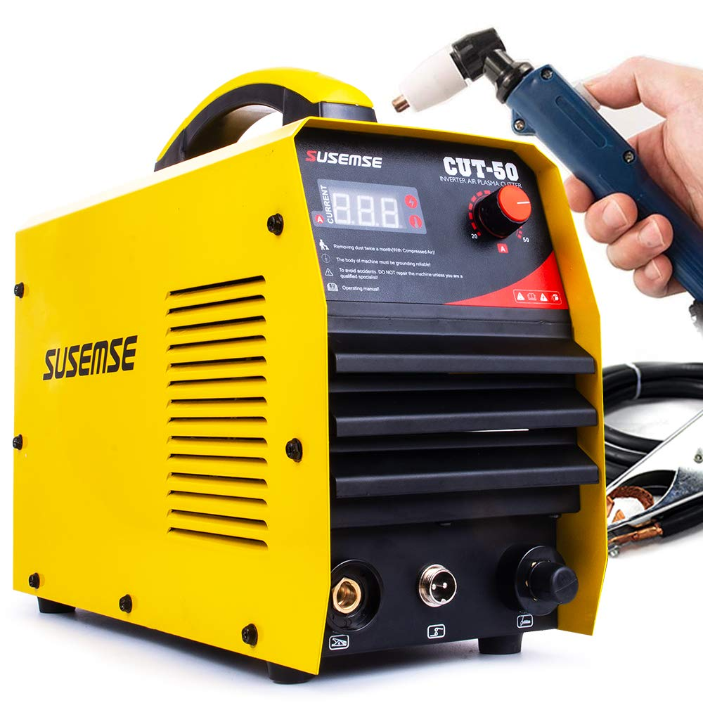 SUSEMSE  New Welder Machine CUT50  220V Voltage 50A Plasma Cutter With PT31 Free Welding
