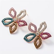 Модные серьги гвоздики в форме звезды для женщин вечерние модные