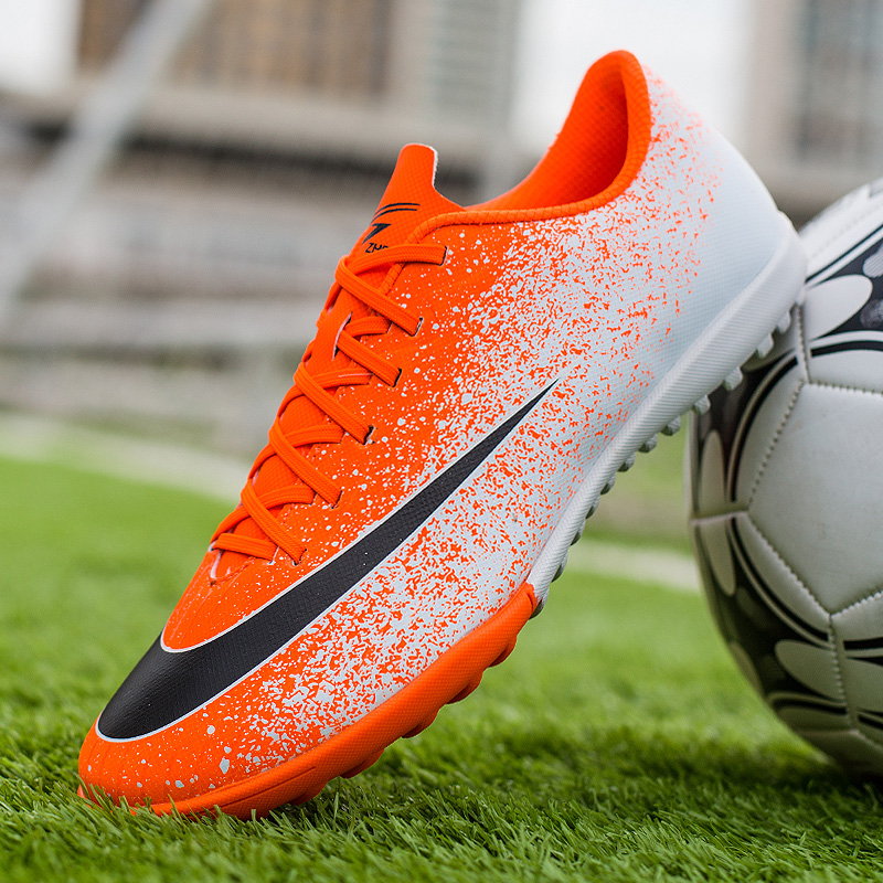 Men's <font><b>Indoor</b></font> Soccer <font><b>Shoes</b></font> Turf Cleats Boys Training Sneakers Breathable Superfly <font><b>Football</b></font> <font><b>Shoes</b></font> <font><b>Kids</b></font> Sports Futsal <font><b>Shoes</b></font> for Men image
