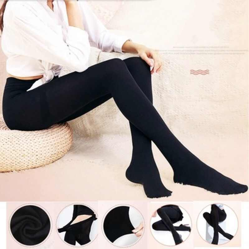Hot Classic Sexy Women Opaque Footed Tights Pantyhose Thick Tights Stockings Women Fashion Tights 2019