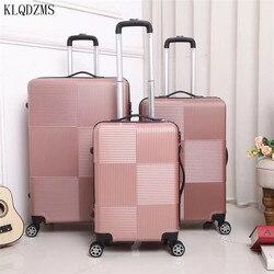 KLQDZMS cheap20 24 28 zoll rolling gepäck spinner männer frauen business reise koffer auf rädern