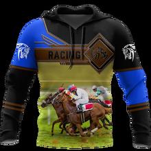 Новинка, тренировочный костюм tessвам с рисунком животных, любящего гоночную лошадь, с татуировкой, Harajuku, уличная одежда с рисунком 3D, пуловер,...