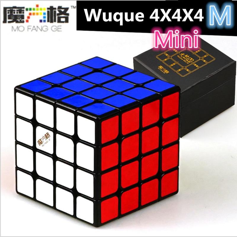QIyi Wuque Mini 4x4x4 Magnetic Cube Wuque Mini M 4x4 Puzzle Magic Cubo Puzzle Toy Qiyi Wuque 4x4 Magnetic Mini Professional Cube