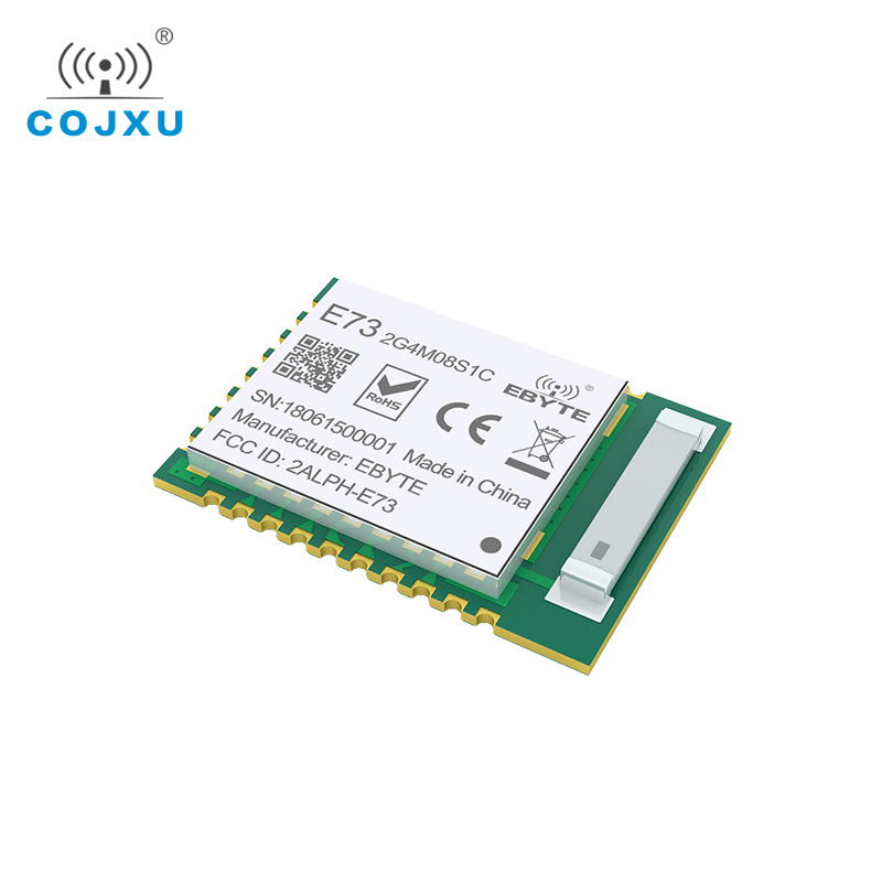 Купить с кэшбэком nRF52840 IC RF Module 2.4GHz 8 dBm E73-2G4M08S1C ebyte Long Range ebyte Bluetooth 5.0 nrf52 nrf52840 Transmitter and Recieever