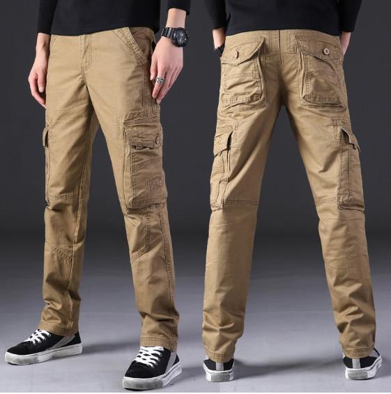 Tactical Pants Men Army Cargo Joggers Sweatpants Streetwear Pantalones Hombre Working Clothes Parkour Military Pants Trousers
