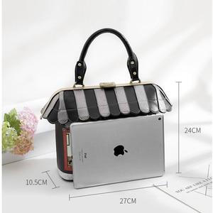Image 5 - IPinee 2020 femmes sac à bandoulière italie Braccialini sac à main Style rétro à la main Bolsa Feminina pour dames maison en forme de sac