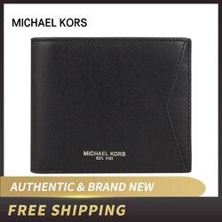 Authentische Original & Brand neue Michael Kors männer brieftasche luxus Taschen 36U9LGFF4O