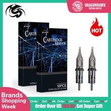 20 unidades profesionales de agujas desechables estériles para Cartucho de tatuaje, delineador redondo, sombreador Magnum para accesorios rotativos para bolígrafos