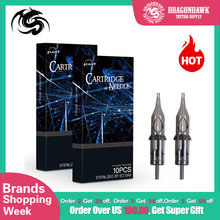 Professional 20 pcs Disposable Sterile Tattoo Cartridge Needles Round Liner Shader Magnum For Rotary Pen Accessories