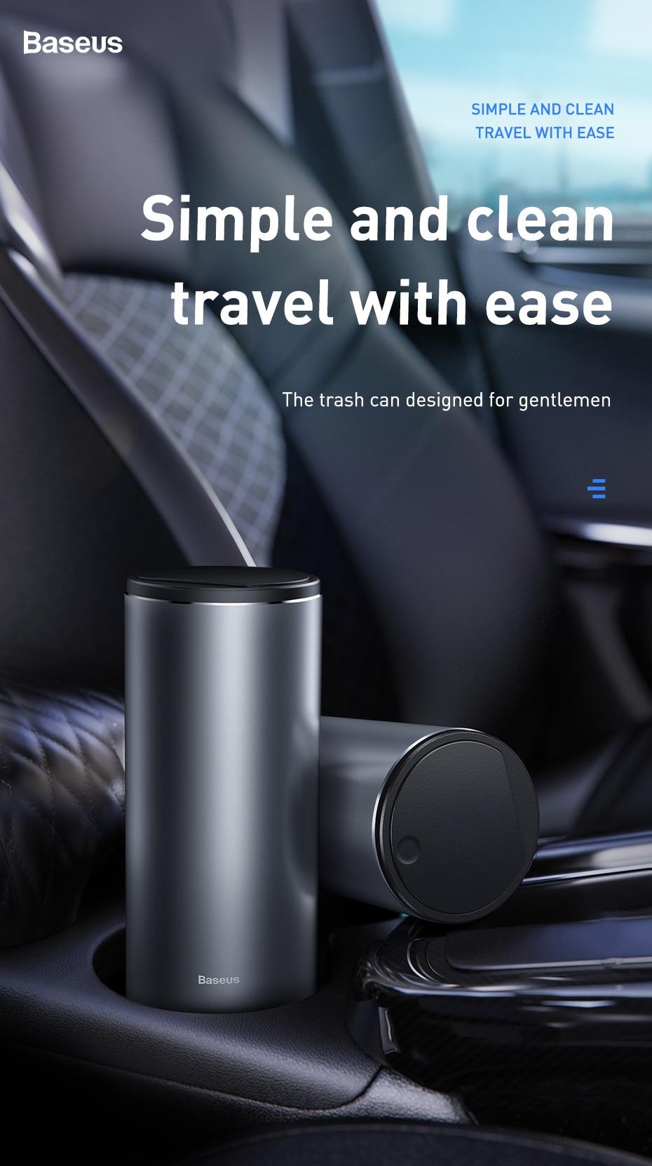 Premium Portable Car Trash Can
