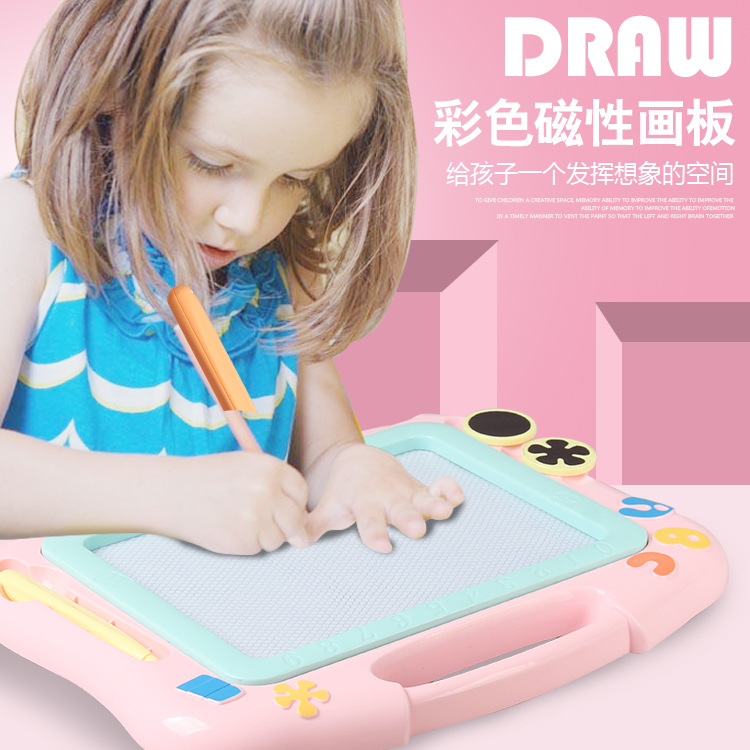 Children Magnetic Drawing Board Medium Large Size Painted Graffiti Writing Board Color Early Childhood Educational Toy