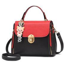 Women PU Leather Handbags Medium Shoulder Bags 2020 Top-Hand