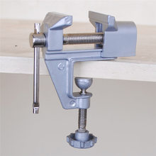 360 grad Rotierenden Tisch Schraubstock Tragbare Hobby DIY Holzbearbeitung Universal Mini Clamp-auf Tisch Schraubstock Clamp Elektrische Bohrer stan