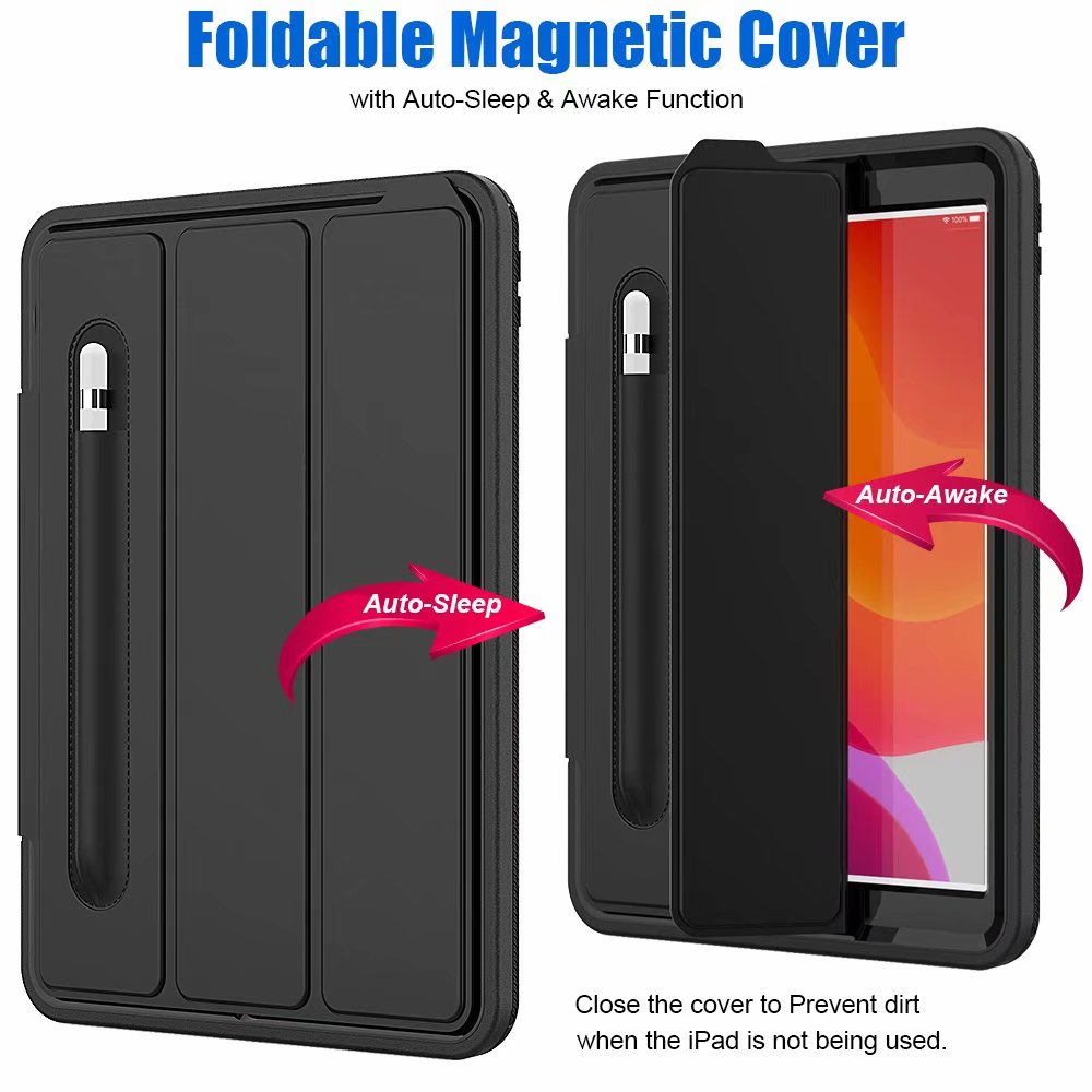 generation Shockproof iPad For 10.2 Armor ipad Kickstand 2019 case Case For smart 7th