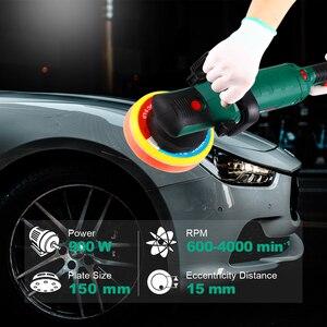 Image 5 - POSENPRO 6 Dual פעולה לטש 150mm 900W מהירות משתנה חשמלי לטש הלם וליטוש מכונת מנקה ליטוש כרית
