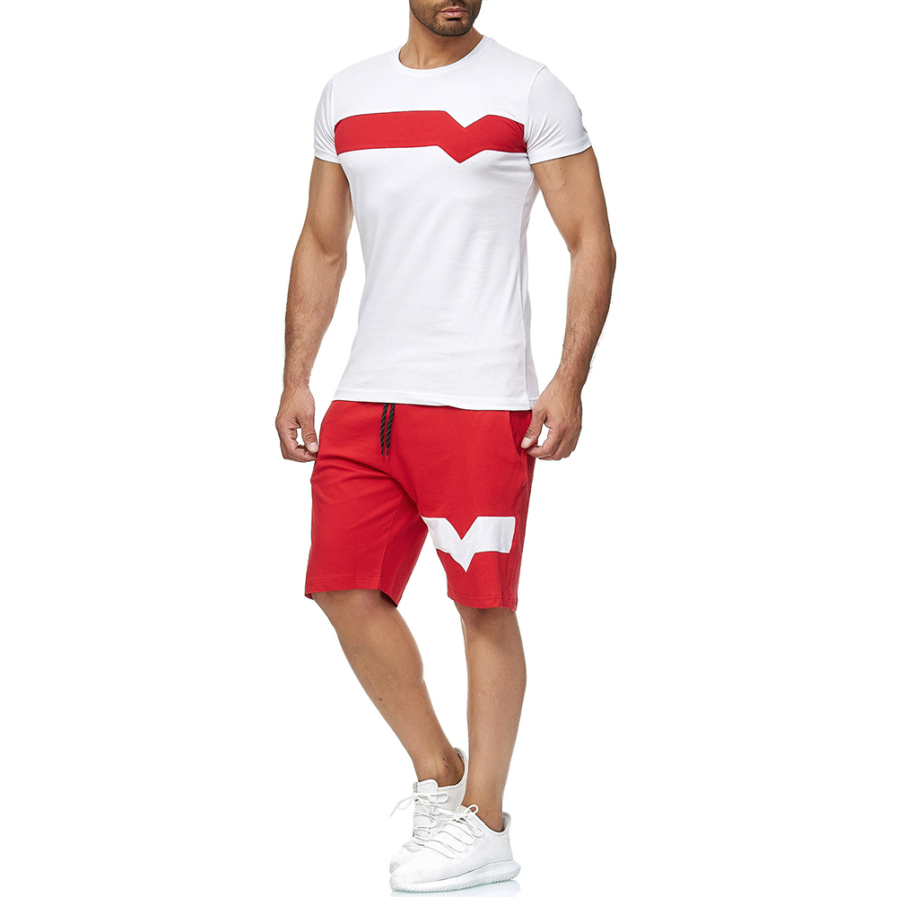 Sports Tracksuit Set for Men Clothing Mens Tracksuits
