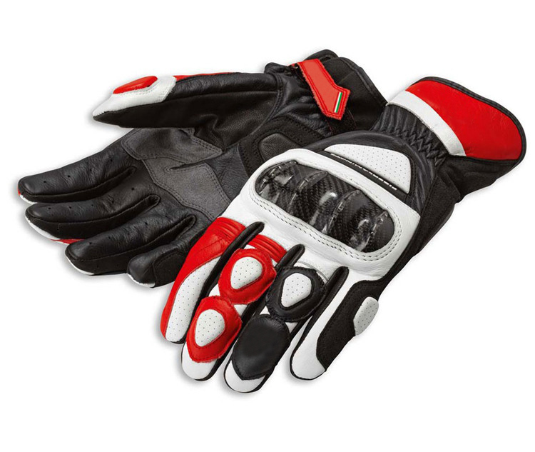 Alpine Motorrad Racing Handschuh GPX Sterne Volle Finger Leder Atmungsaktive Handschuh Guantes Moto GP S1 MTB Motocross Handschuhe luva
