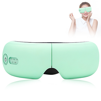 Support Bluetooth Smart Airbag Vibration Eye Massager Eye Care Instrument Hot Compress Eye Fatigue Massage Glasses 1
