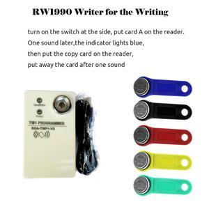 Image 2 - 50 teile/los Wiederbeschreibbare Klon RFID TM Touch Memory Schlüssel RW1990 iButton Kopie Karte Sauna Schlüssel Duplizieren