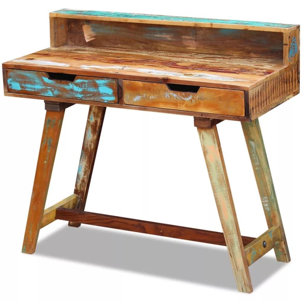 VidaXL Desk Solid Reclaimed Wood 243270