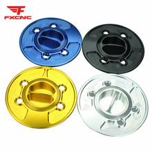 For BMW HP2 SPORT S1000RR (NOT Comp ver) S1000R (w and w/o CC) Aluminum Motorcycle Gas Cap Tank Fuel Oil Cover