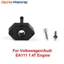 Turbo BOV Vakuum Adapter boost tap Für VW Für Audi 1,4 T EA111 motor Aluminium Legierung Anschluss eine boost gauge