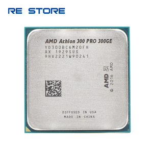 AMD Athlon PRO 300GE X2 PRO 300GE 3.2GHz Dual-Core Quad-Thread CPU Processor Socket AM4